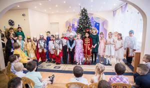 Рождественский праздник для воспитанников детского дома