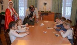 Детский Рождественский праздник прошел в Отделе образования