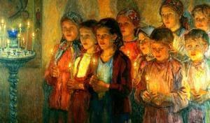 Когда можно петь в храме?