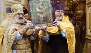 День святителя Николая Чудотворца. Спасо-Парголовский храм