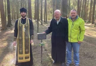 Почтили память. В Левашово почтили память убиенного епископа Вениамина (Глебова).