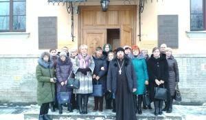 Администрация Выборгского района посетила Санкт-Петербургскую Православную Духовную Академию