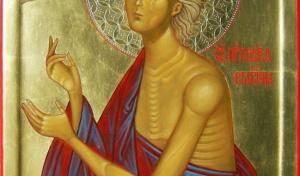 В Спасо-Преображенском соборе СПб почтили память преподобной Марии Египетской