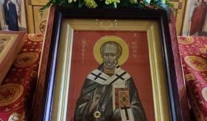 Престольный праздник святителя Николая Чудотворца!