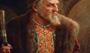 ПОЧЕМУ ИВАНА IV ПРОЗВАЛИ ГРОЗНЫМ?