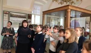 Состоялась первая экскурсия школьников в новый музей епархии