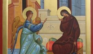 Поучение на день Благовещения Пресвятой Богородицы