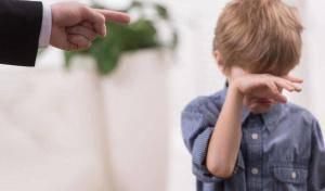 Недовольство родителя – серьезный стресс для ребенка