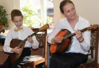 25 декабря в 16:00 Концерт класса домры, балалайки и ансамбля М.Е. Роговой.