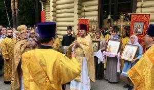 Престольный праздник в Левашово
