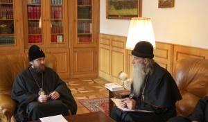 Первая встреча о возможности признания Московским Патриархатом законности Белокриницкой иерархии