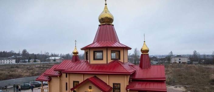Митрополит Варсонофий освятил храм мучеников младенцев Вифлеемских