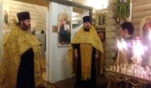 Престольный праздник храма Святителя Николая Чудотворца