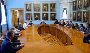 Митрополит Варсонофий встретился с руководителями петербургских вузов