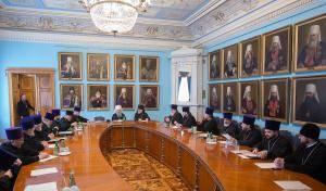 Митрополит Варсонофий провел заседание епархиального совета с участием благочинных Митрополит Варсонофий провел заседание епархиального совета с участием благочинных