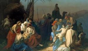 """4, 11, 18 и 25 июля – 4 интерактивные лекции """"Библейские истории Иосифа, Иова и Моисея в изобразительном искусстве"""""""