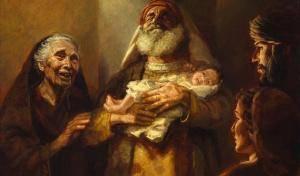 Встреча Младенца и старца. Первенцы в Библии. 12 февраля в 19:00