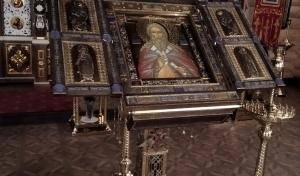 13,14,15  марта с 9-17 часов в храме Всех святых в земле СПб просиявших на  Левашовской мемориальном кладбище будет пребывать икона пророка Божия Илии
